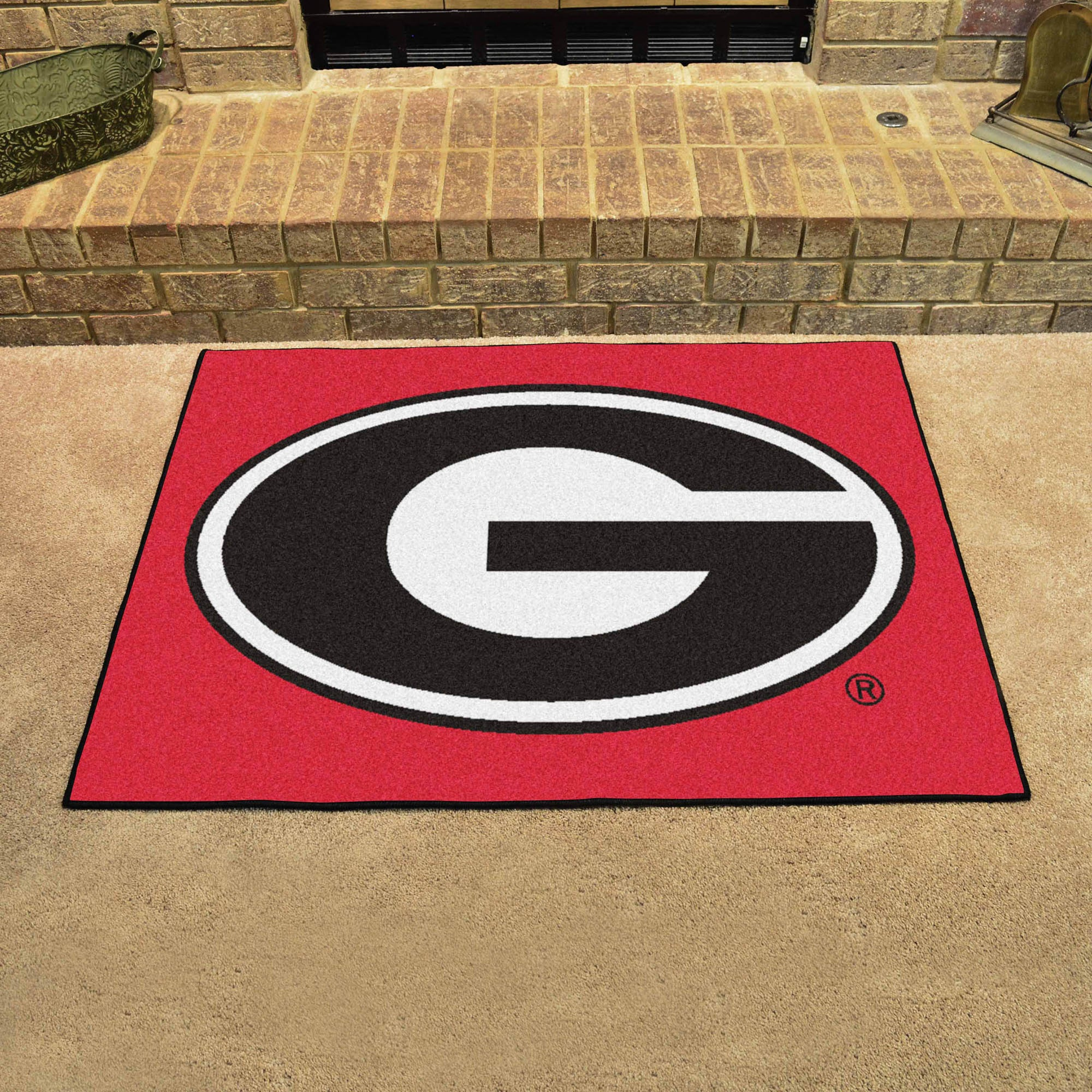 Georgia University Red All Star Mat
