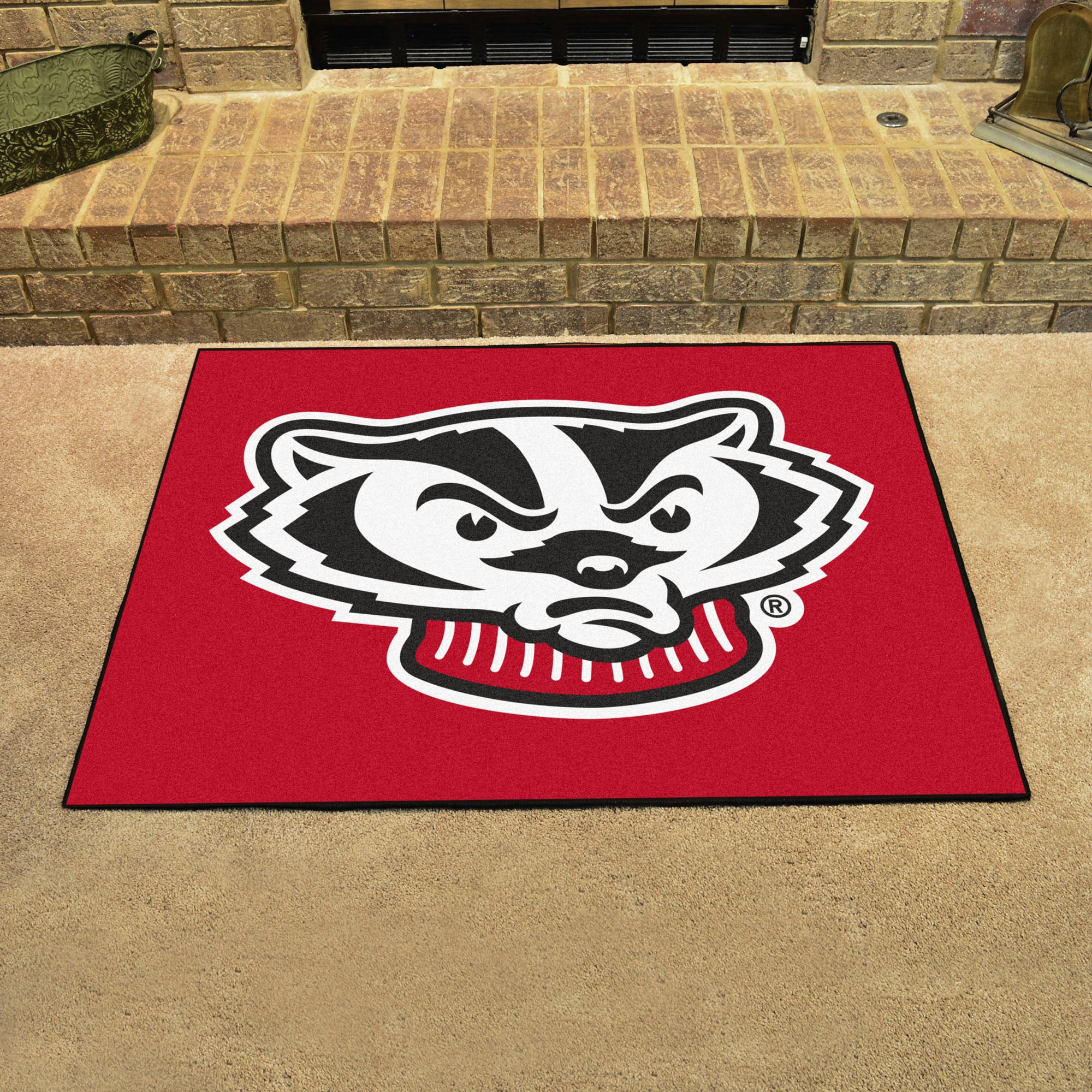 University of Wisconsin Mascot All Star Mat