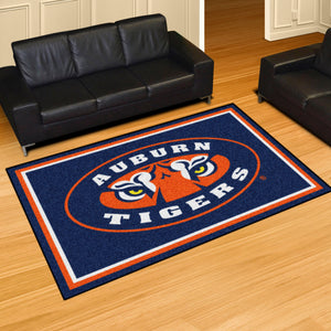 Auburn University Mascot Plush Rug  College Area Rug - Fan Rugs