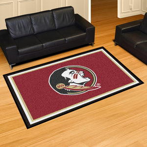 Florida State University Plush Rug  College Area Rug - Fan Rugs