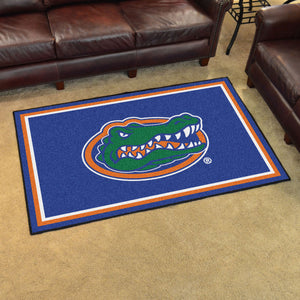 University of Florida Plush Rug  College Area Rug - Fan Rugs