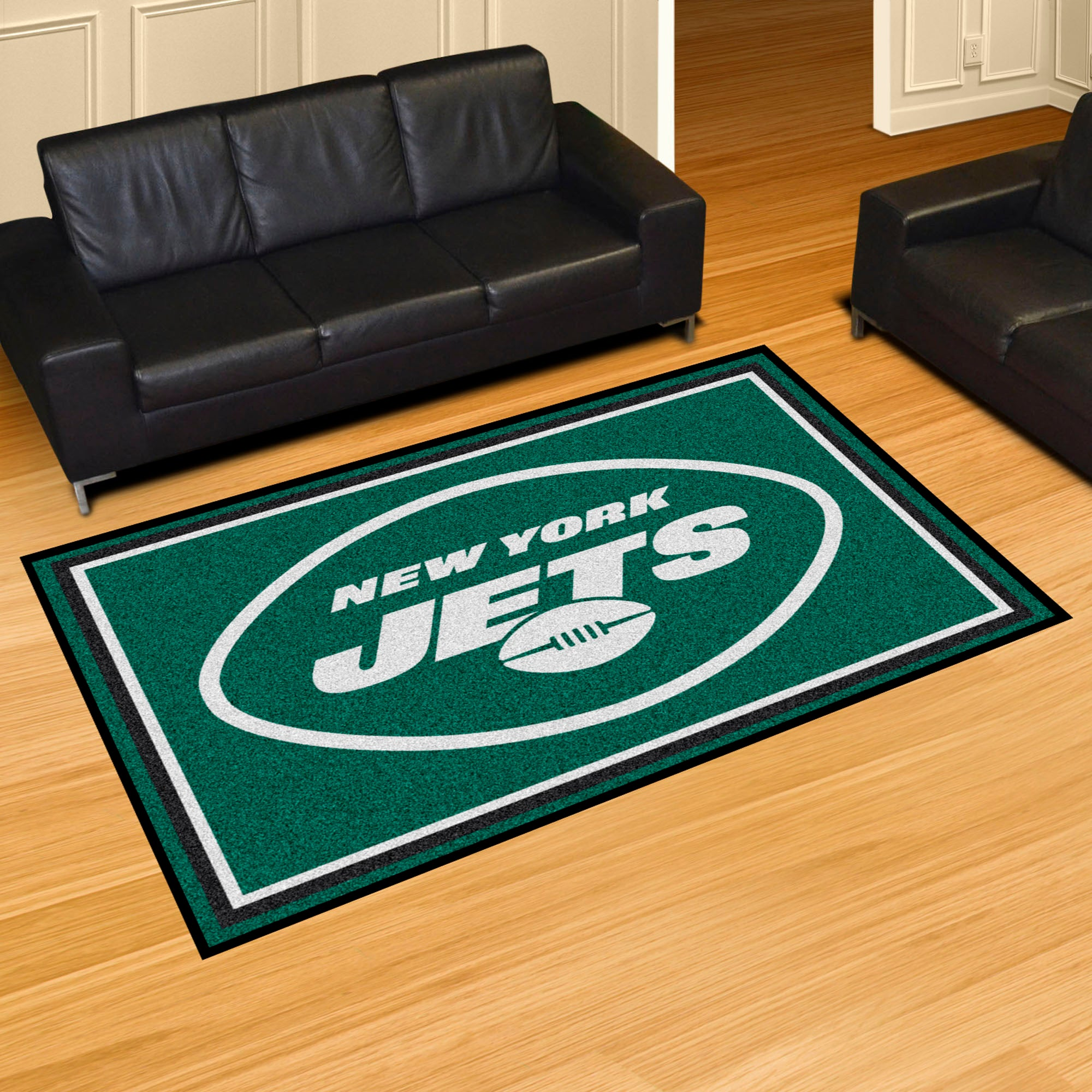 New York Jets Plush Rug