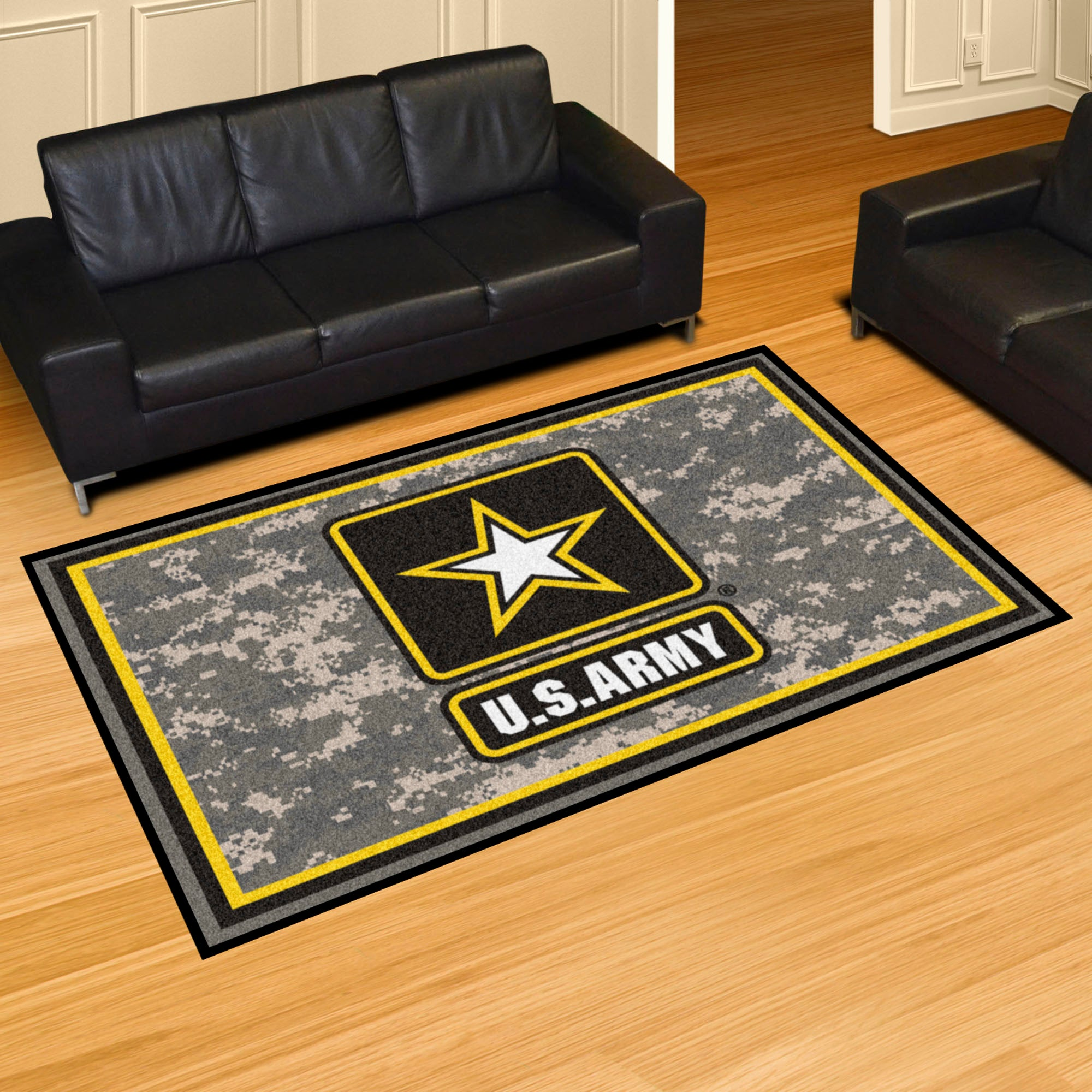 U.S. Army Ultra Plush Area Rug  NFL Area Rug - Fan Rugs