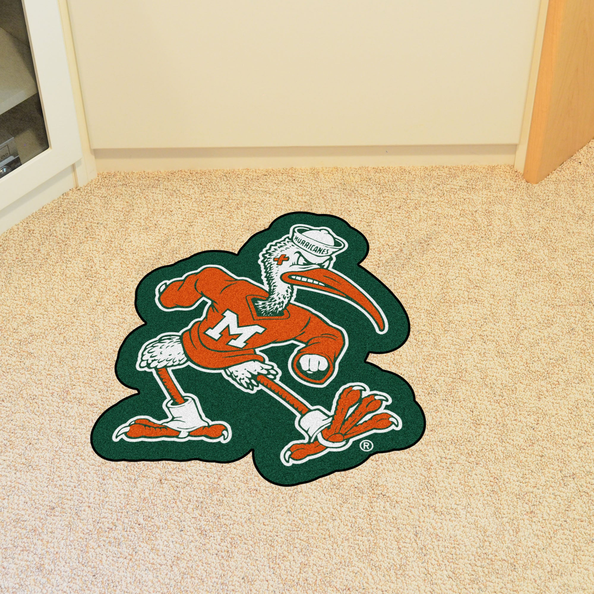 University of Miami Mascot Mat