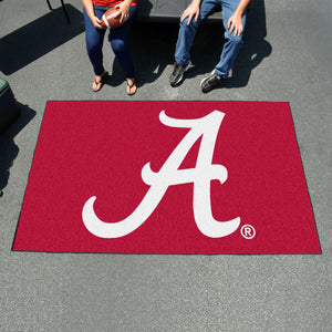 University of Alabama Ulti-Mat  College Ulti-Mat - Fan Rugs