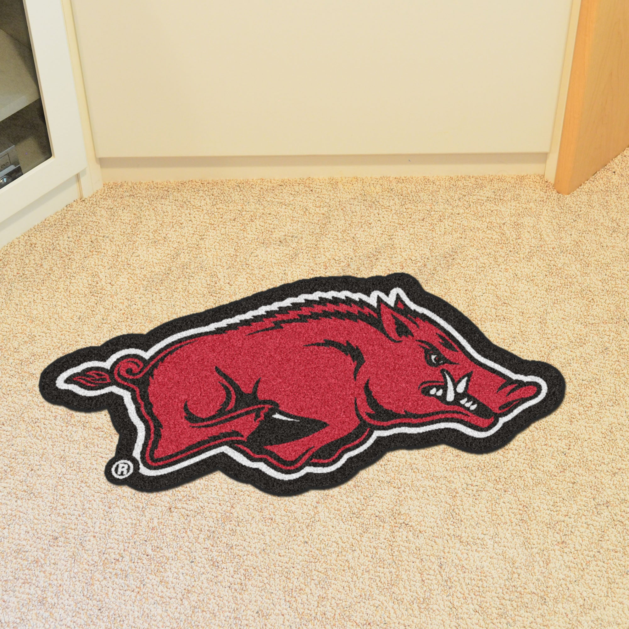 University of Arkansas Mascot Mat