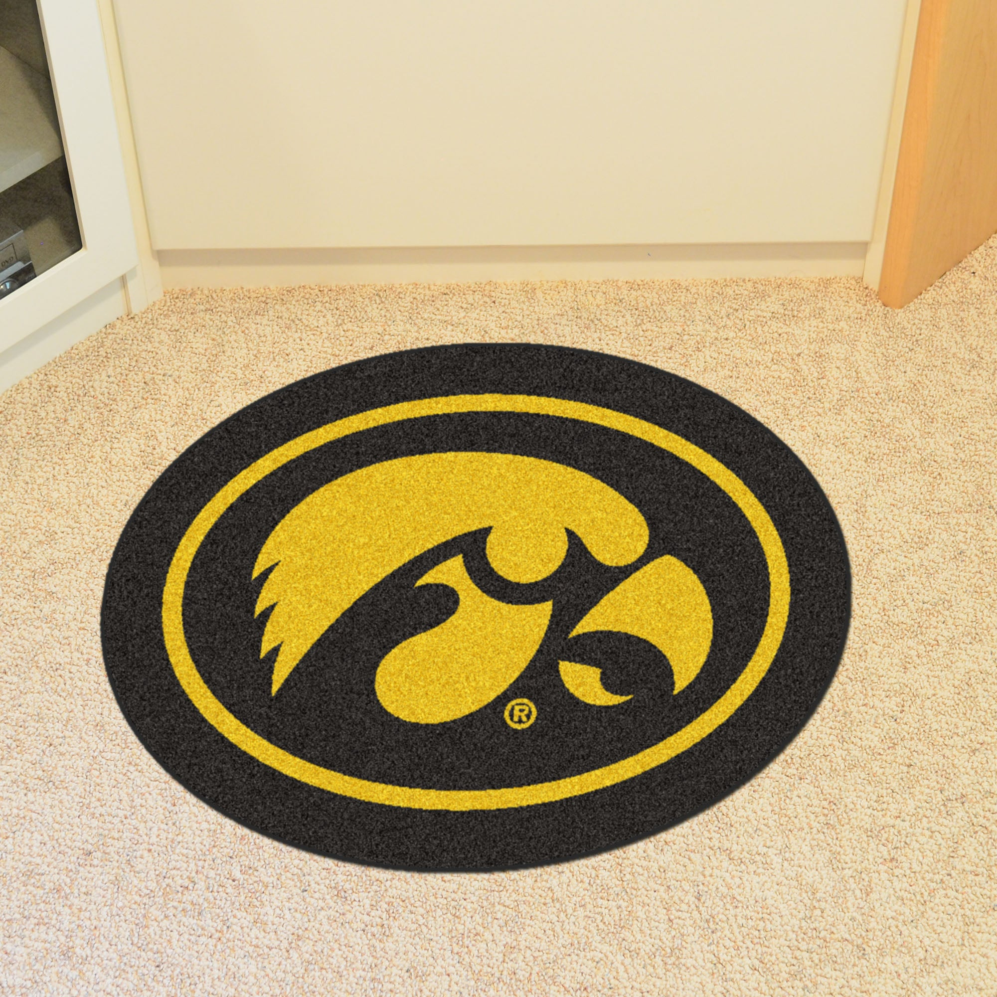 University of Iowa Mascot Mat