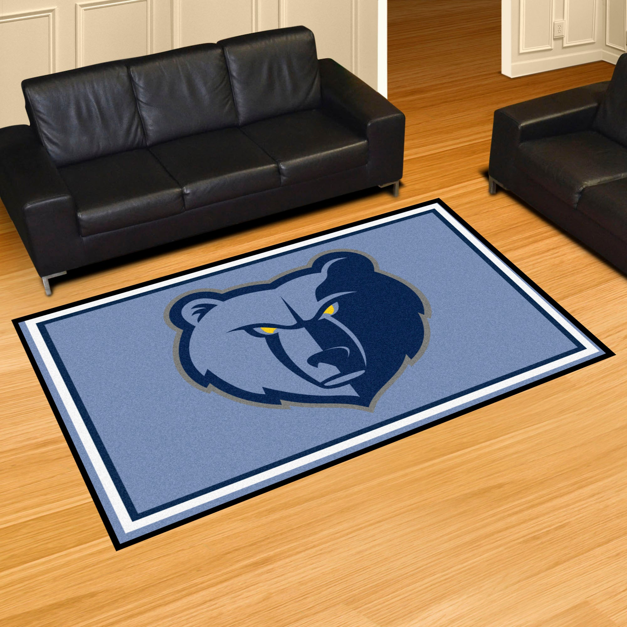 Memphis Grizzlies Rug  NBA Area Rug - Fan Rugs