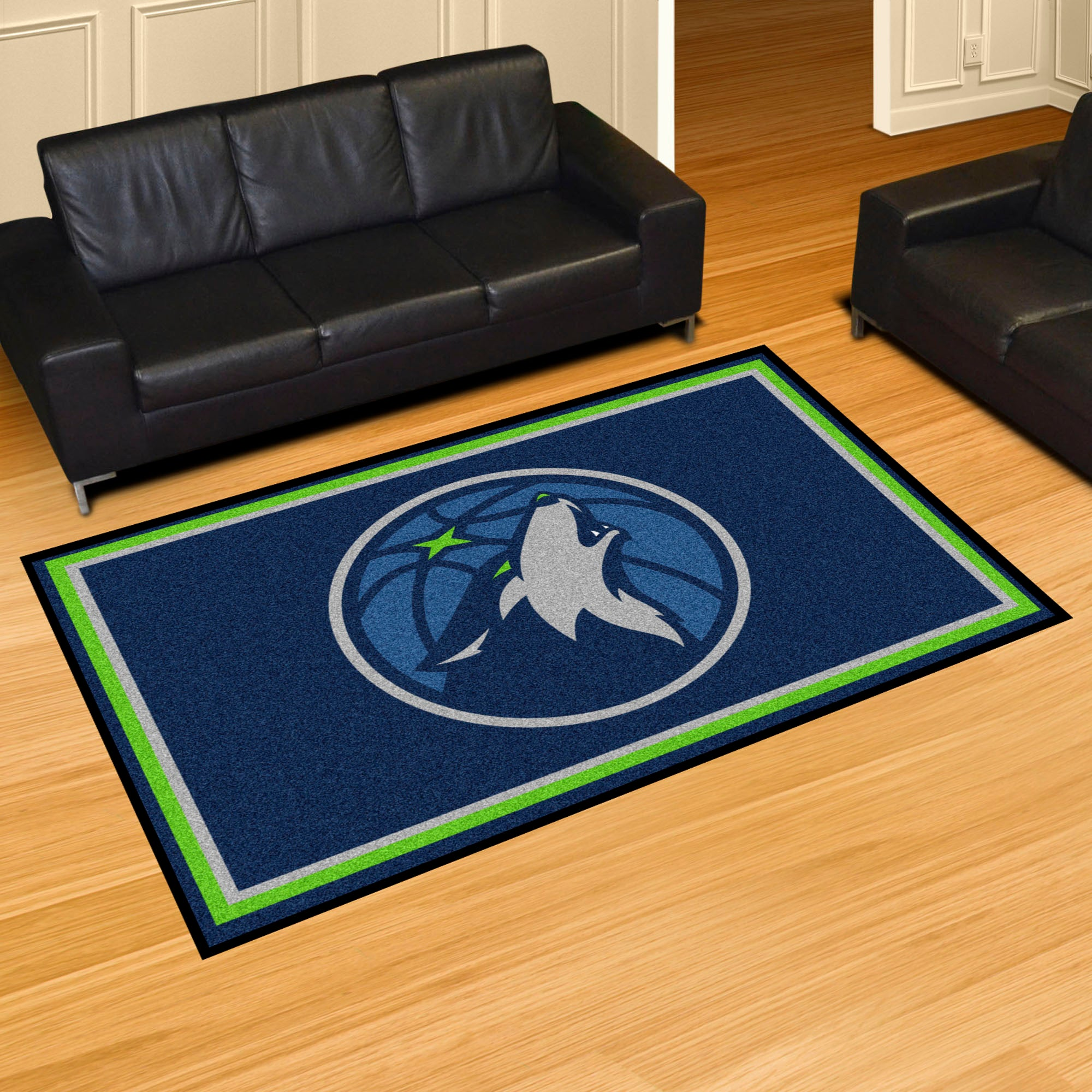 Minnesota Timberwolves Rug  NBA Area Rug - Fan Rugs