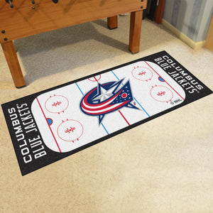Columbus Blue Jackets Rink Runner