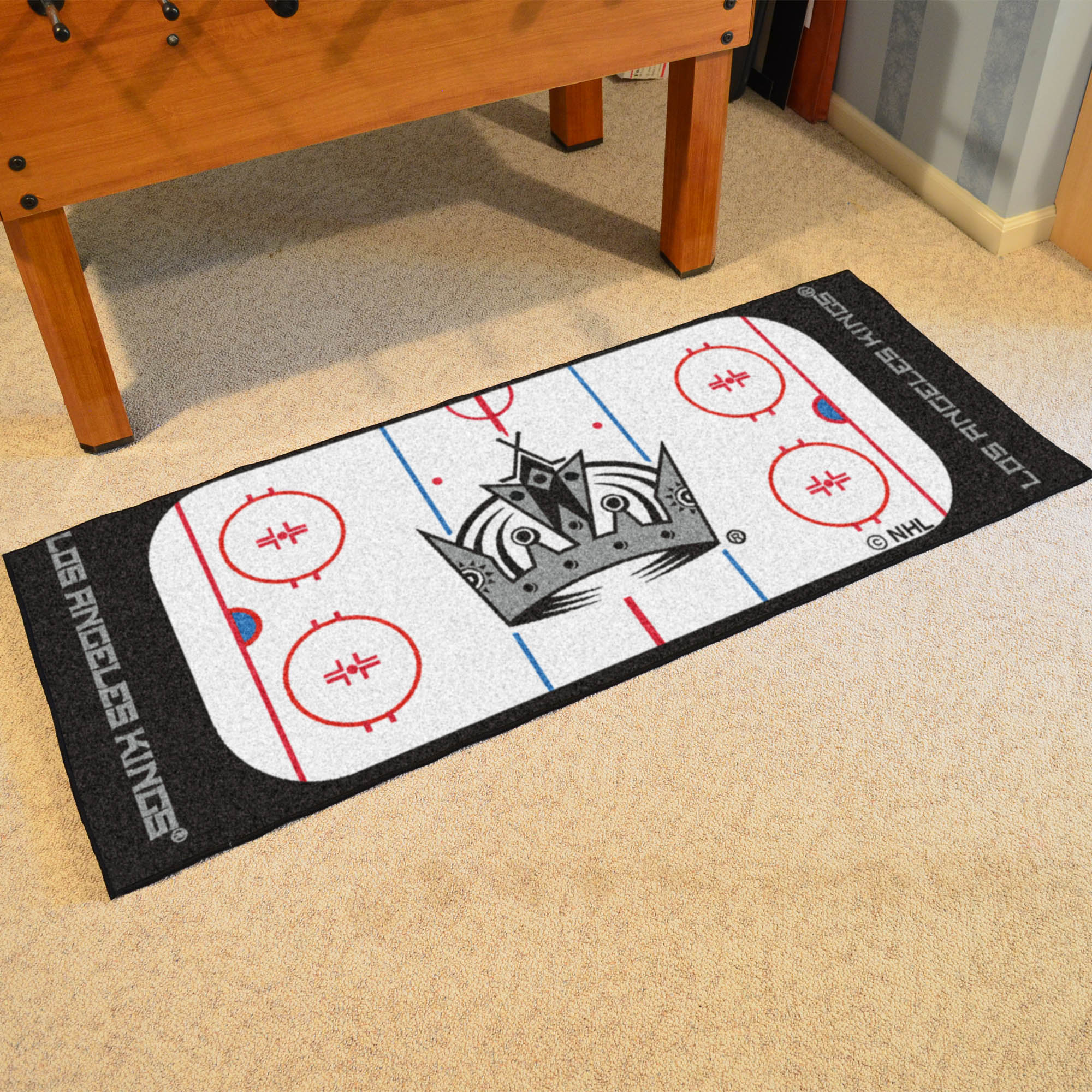 Los Angeles Kings Rink Runner