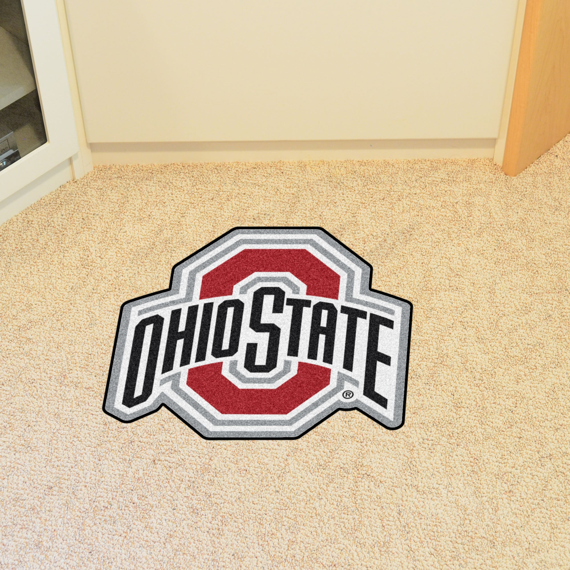 Ohio State University Logo Mascot Mat
