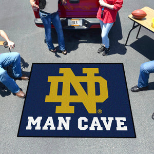Notre Dame Man Cave Tailgater Mat