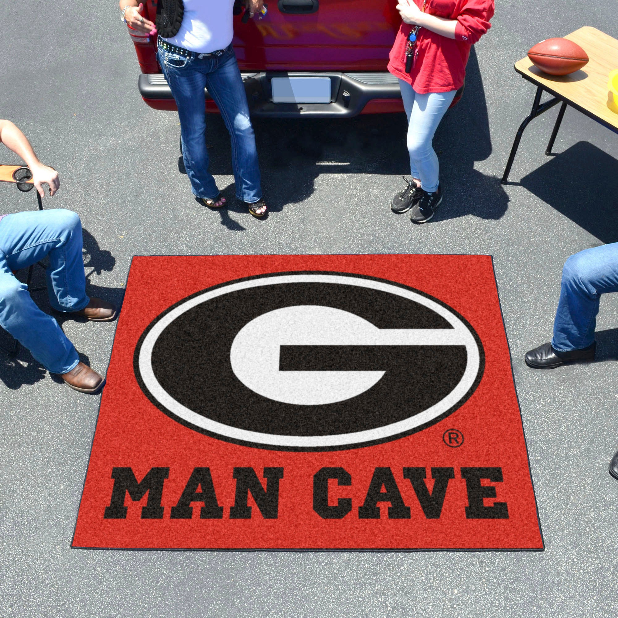 University of Georgia Man Cave Tailgater Mat