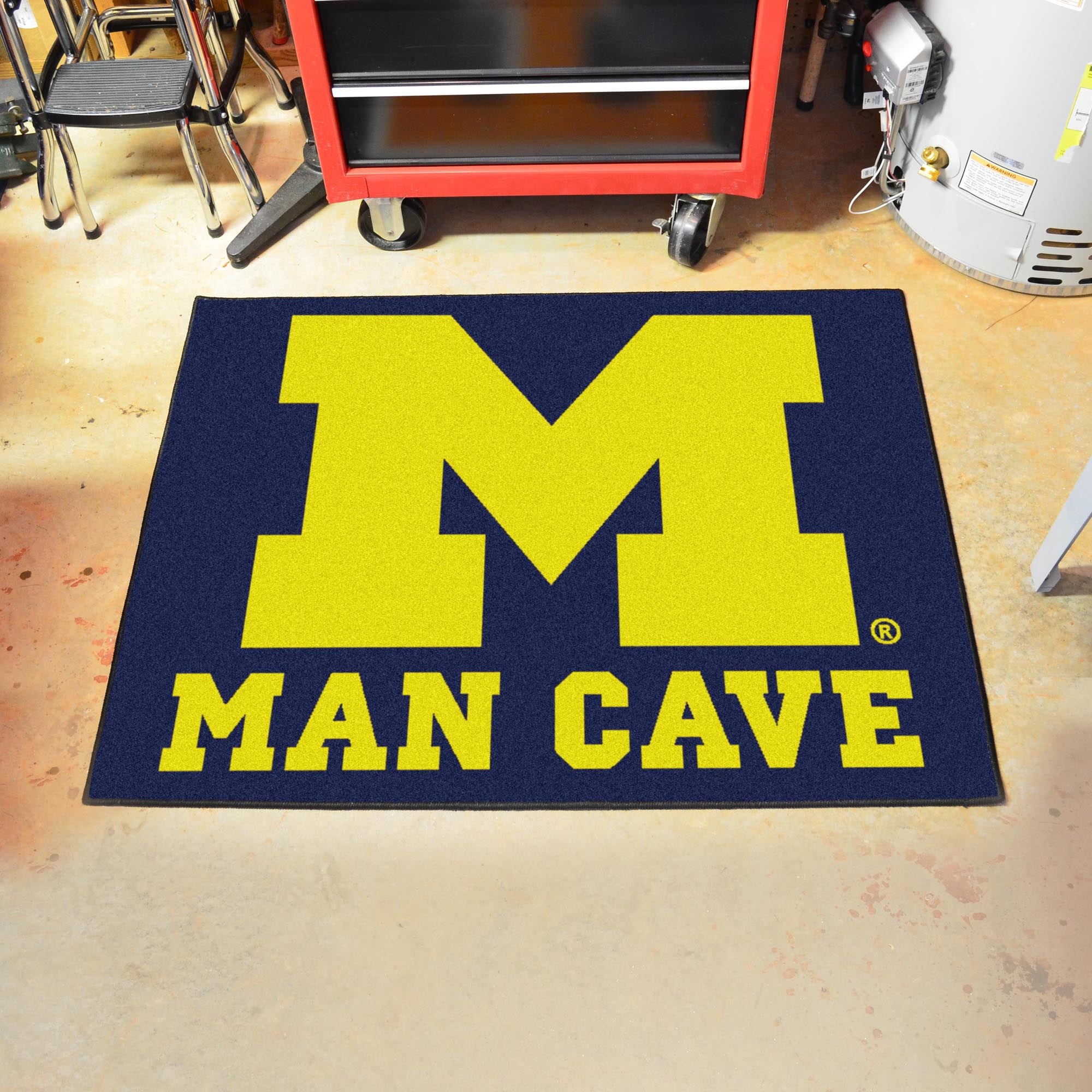 University of Michigan Man Cave All Star Mat