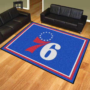 Philadelphia 76ers Rug  NBA Area Rug - Fan Rugs