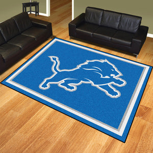 Detroit Lions Plush Rug  NFL Area Rug - Fan Rugs