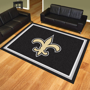 New Orleans Saints Plush Rug
