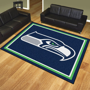 Seattle Seahawks Plush Rug