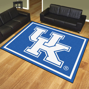 University of Kentucky Plush Rug  College Area Rug - Fan Rugs