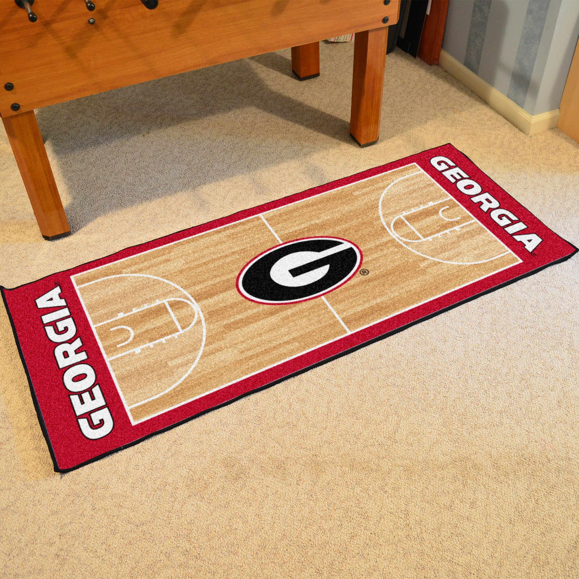 University of Georgia Basketball Runner