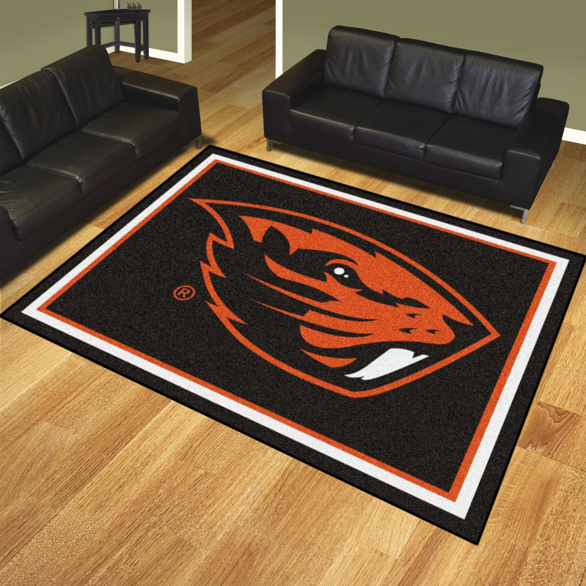 Oregon State University Plush Rug