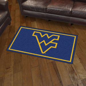 West Virginia University Plush Rug  College Area Rug - Fan Rugs