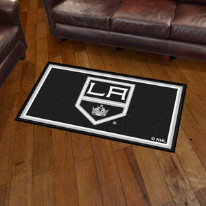 Los Angeles Kings Plush Rug  NHL Area Rug - Fan Rugs