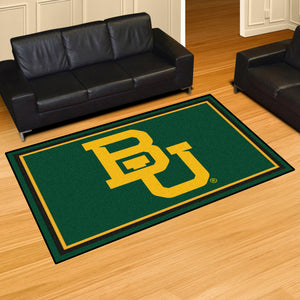 Baylor University Plush Rug  College Area Rug - Fan Rugs