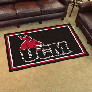 University of Central Missouri Plush Rug  College Area Rug - Fan Rugs