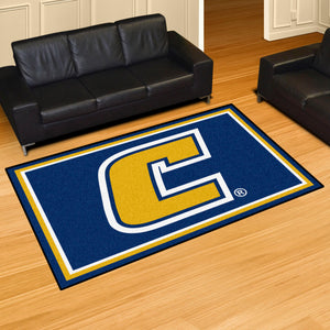 UTC - University of Tennessee Chattanooga Plush Rug  College Area Rug - Fan Rugs