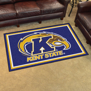 Kent State University Plush Rug  College Area Rug - Fan Rugs