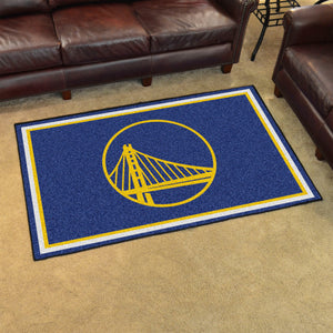 Golden State Warriors Rug  NBA Area Rug - Fan Rugs
