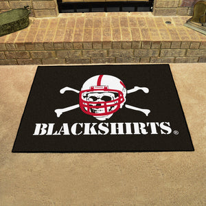 University of Nebraska Blackshirts All Star Mat  college all star mat - Fan Rugs