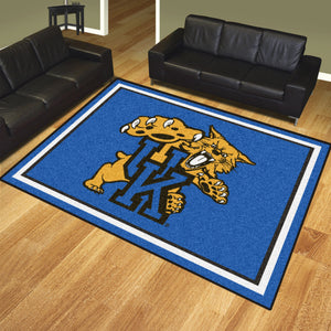 University of Kentucky Mascot Plush Rug  College Area Rug - Fan Rugs