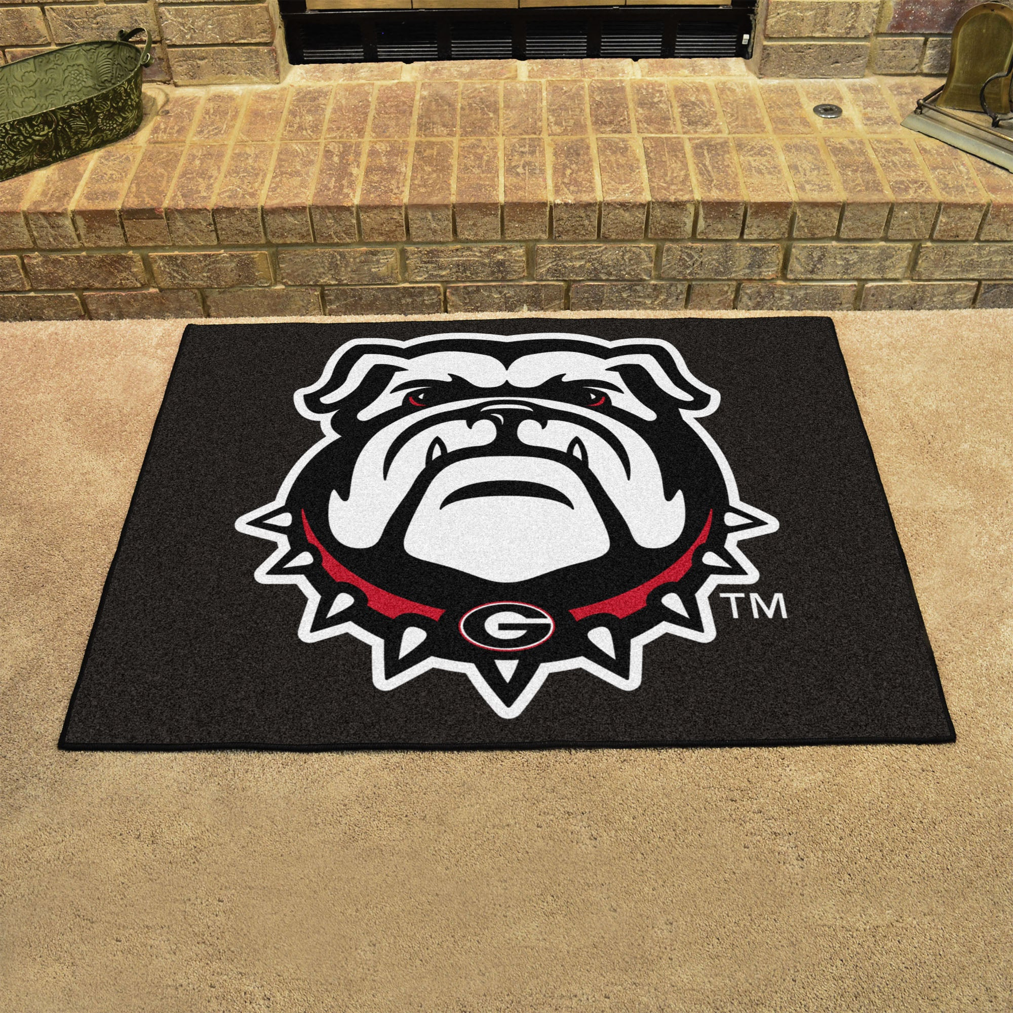 Georgia University Mascot All Star Mat