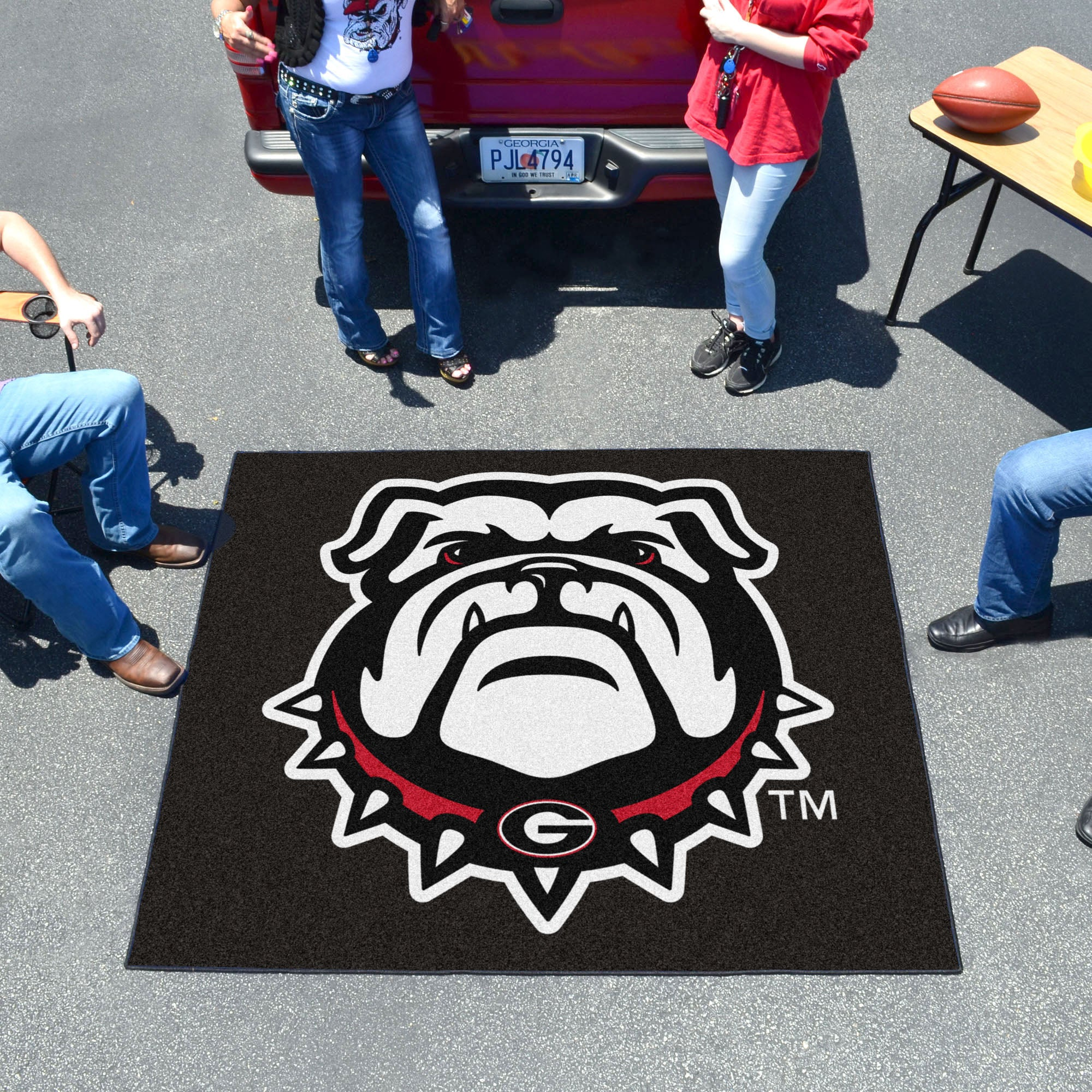 University of Georgia Mascot Tailgater Mat