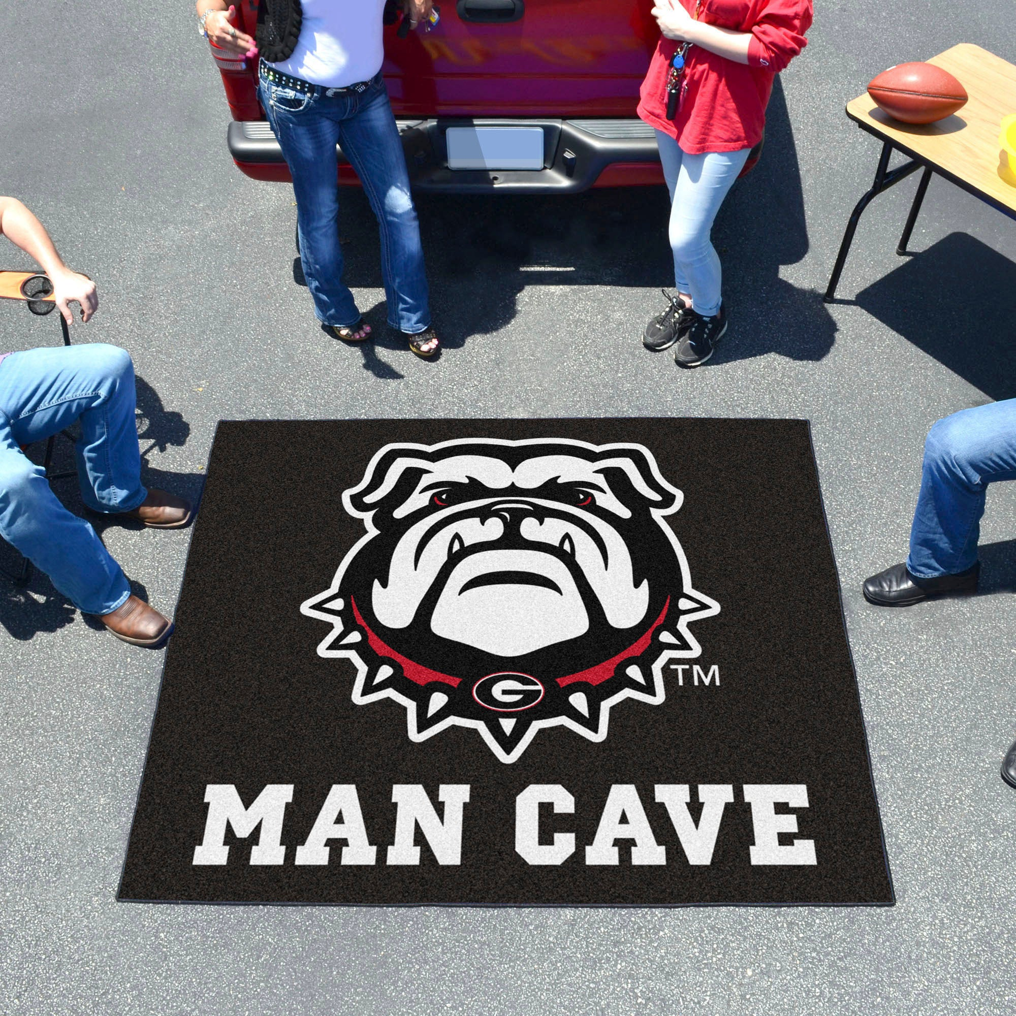 University of Georgia Bulldog Man Cave Tailgater Mat