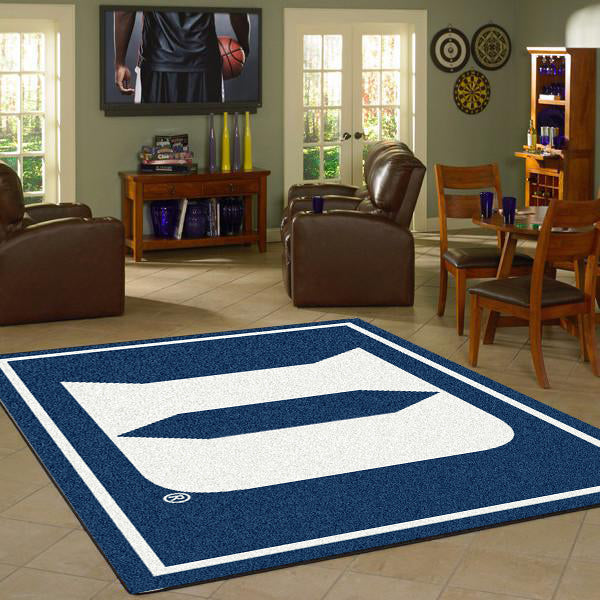 Duke University Team Spirit Rug  College Area Rug - Fan Rugs
