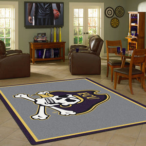 East Carolina University Team Spirit Rug  College Area Rug - Fan Rugs