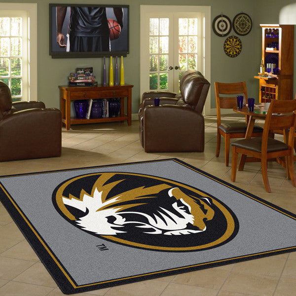 Missouri University Team Spirit Rug  College Area Rug - Fan Rugs