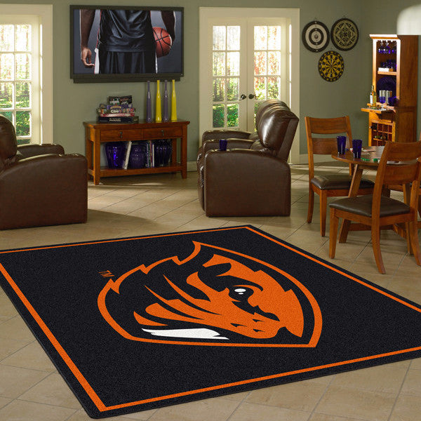 Oregon State Beavers University Team Spirit Rug  College Area Rug - Fan Rugs