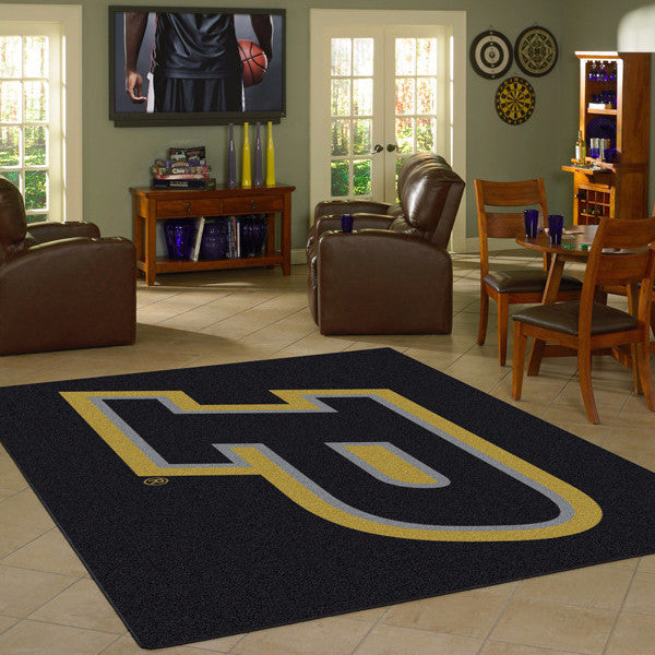 Purdue University Team Spirit Rug  College Area Rug - Fan Rugs