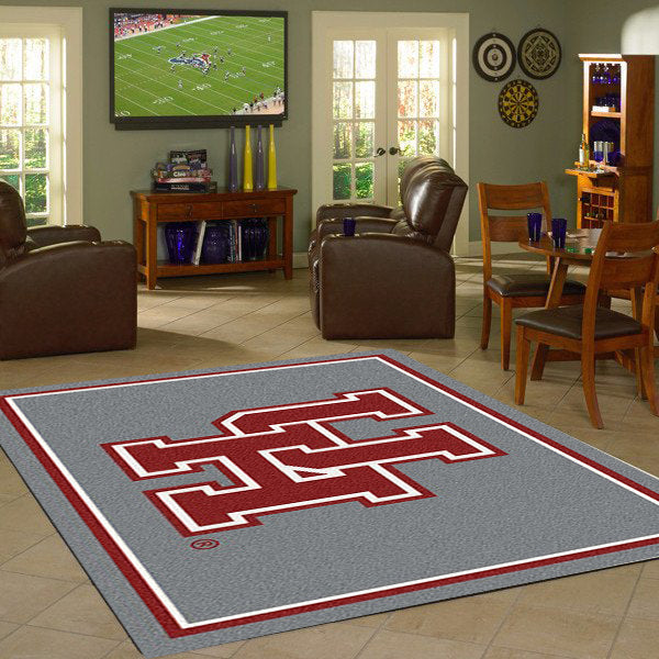 Houston University Team Spirit Rug  College Area Rug - Fan Rugs