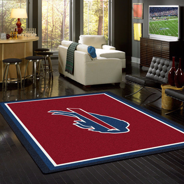 Buffalo Bills NFL Team Spirit Rug  NFL Area Rug - Fan Rugs