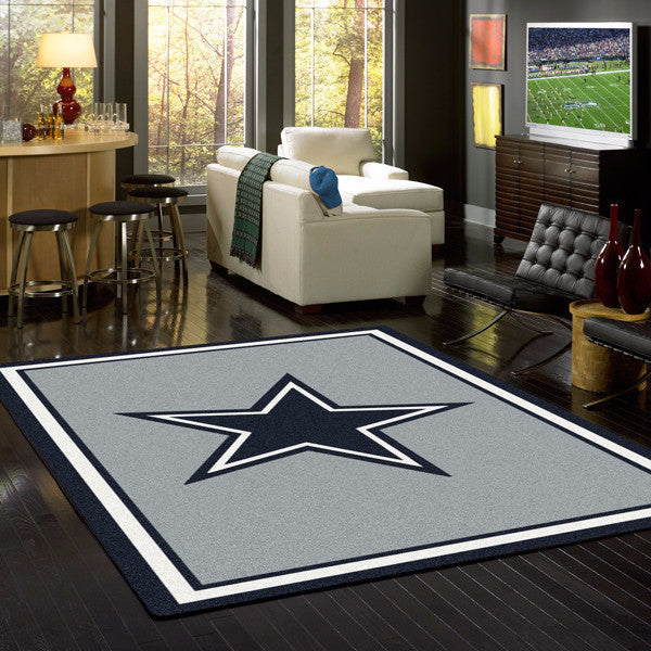 Dallas Cowboys Nfl Team Spirit Rug Fan Rugs