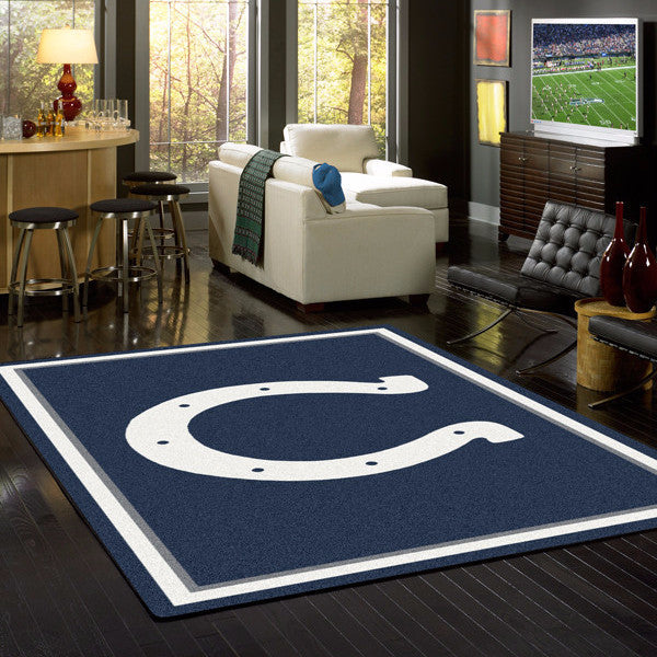Indianapolis Colts NFL Team Spirit Rug  NFL Area Rug - Fan Rugs