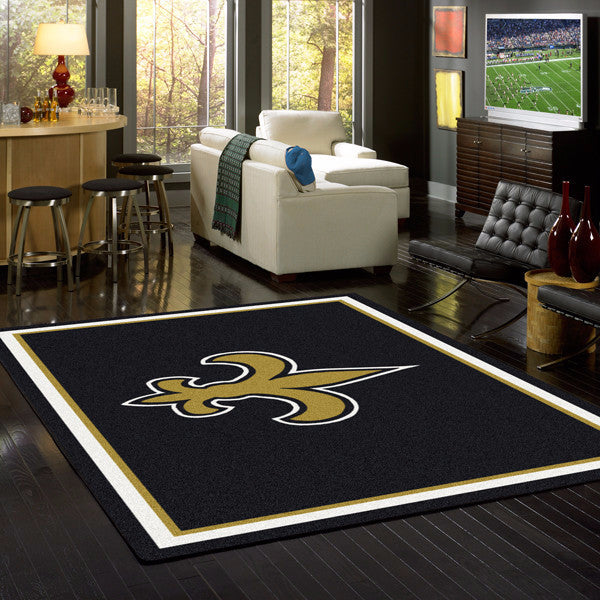 New Orleans Saints NFL Team Spirit Rug  NFL Area Rug - Fan Rugs