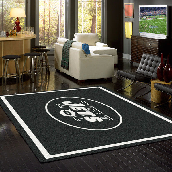 New York Jets NFL Team Spirit Rug  NFL Area Rug - Fan Rugs