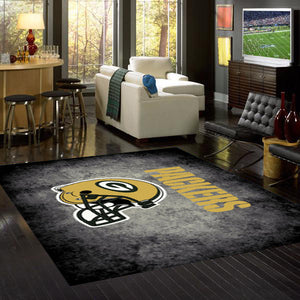 Green Bay Packers NFL Team Distressed Rug  NFL Area Rug - Fan Rugs
